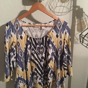 Chico comfy fall blouse